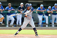 31 May 2016: Nova Southeastern's Jancarlos Cintron-Torres. The Nova Southeastern University Sharks played the Lander University Bearcats in Game 8 of the 2016 NCAA Division II College World Series  at Coleman Field at the USA Baseball National Training Complex in Cary, North Carolina. Nova Southeastern won the game 12-1.