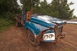 Old Toyota Truck, Turtle Island, Yasawa Islands, Fiji