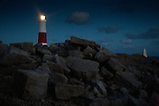 Portland Bill lighthouse, Dorset, England, UK