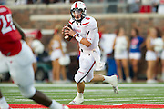 DALLAS, TX - AUGUST 30: Baker Mayfield #6 of the Texas Tech Red Raiders scrambles against the SMU Mustangs on August 30, 2013 at Gerald J. Ford Stadium in Dallas, Texas.  (Photo by Cooper Neill/Getty Images) *** Local Caption *** Baker Mayfield