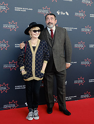 Edinburgh International Film Festival 2019<br /> <br /> Robert The Bruce (World Premiere)<br /> <br /> Pictured: Lulu and Angus Macfadyen<br /> <br /> Aimee Todd | Edinburgh Elite media