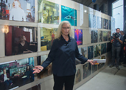 "US star photographer Annie Leibovitz in her exhibition ""WOMEN: New Portraits"" on 11.10. 2016 at the Kunstverein Montez in Frankfurt, Germany, October 11, 2016"