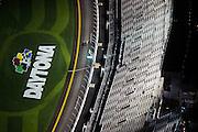 January 26-29, 2017: Rolex Daytona 24. Daytona International Speedway at night during the 55th running of the Rolex 24. 18 DAC Motorsports, Massari, Brisebois, Anassis, Claman, Brandon Gdovic Daytona arial view from a cessna plane