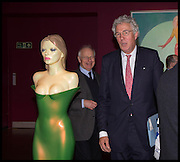 HENRY WYNDHAM, Allen Jones private view. Royal Academy,  London. 11 November  2014.