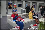KATHARINA DIETRICH, Qatar Prix de L'Arc de Triomph. Longchamp. Paris. 5 October 2014.
