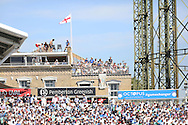 Roof top view during the 3rd day of the Investec Ashes Test match between England and Australia at the Oval, London, United Kingdom on 22 August 2015. Photo by Phil Duncan.