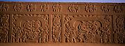 PERU, PREHISPANIC, CHIMU Chan Chan, Rainbow Temple relief