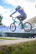 2021 UCI BMXSX World Cup<br /> Round 3 and 4 at Bogota (Colombia)<br /> ^we#216 VAUGHN, Daleny (USA, WE) DK Bicycles