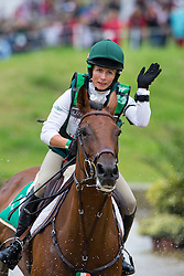 Sarah Ennis, (IRL), Horseware Stellor Rebound - Eventing Cross Country test- Alltech FEI World Equestrian Games™ 2014 - Normandy, France.<br /> © Hippo Foto Team - Leanjo de Koster<br /> 30/08/14