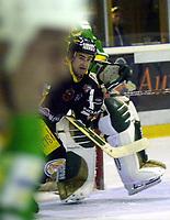 Dan O'Connell, Trondheim. Eliteserien, Ishockey 2001/02. Mangelrud/Star - Trondheim. 21. oktober 2001. (Foto: Peter Tubaas/Digitalsport)