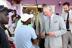 The Prince of Wales meets displaced Barbudans as he visits the Holy Trinity School in Codrington, Barbuda as he continues his tour of hurricane-ravaged Caribbean islands.