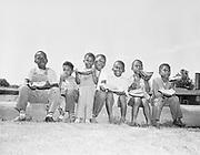 """470800A """"Vanport - colored boys - 'Mellon"""" (August 1947,"""