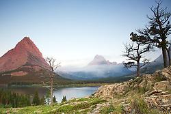 Swiftcurrent Lake, Mt. Grinnell, Mt. Wilbur, Glacier National Park