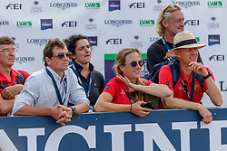 Meier Kai Steffen, GER, De Liedekerke Lara, Desmedt Jef, BEL<br /> European Championship Eventing<br /> Luhmuhlen 2019<br /> © Hippo Foto - Stefan Lafrentz