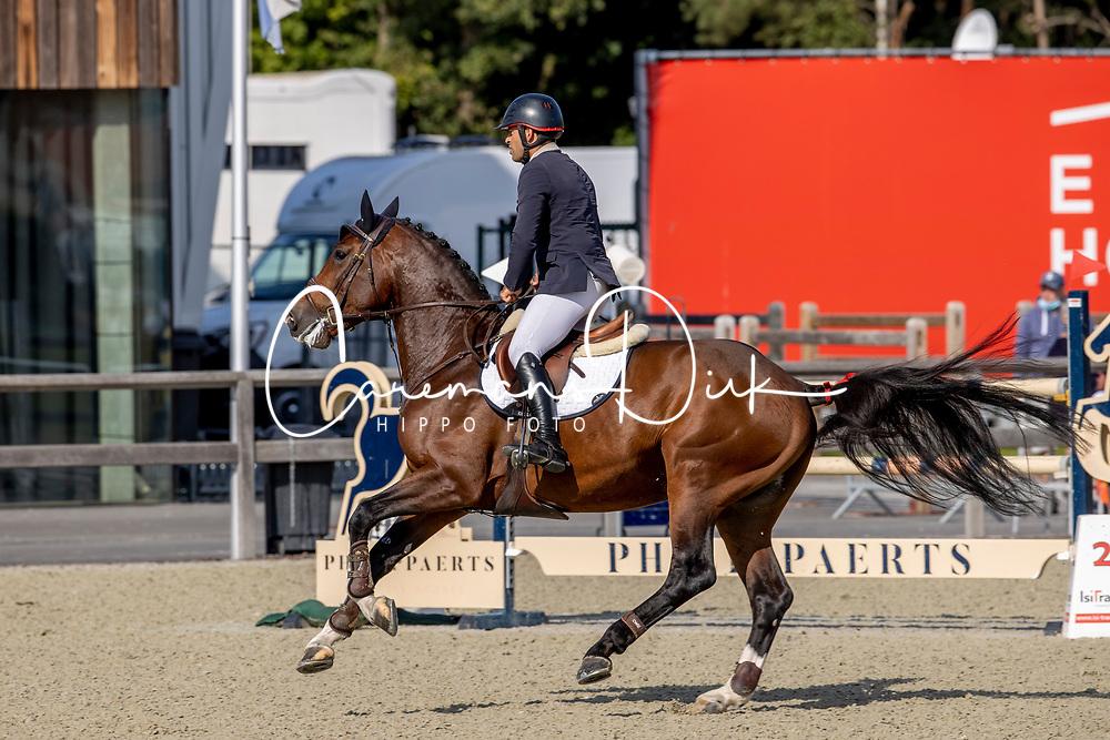 Bourguignon Vincent, BEL, Classified SR<br /> Belgian Championship 6 years old horses<br /> SenTower Park - Opglabbeek 2020<br /> © Hippo Foto - Dirk Caremans<br />  13/09/2020
