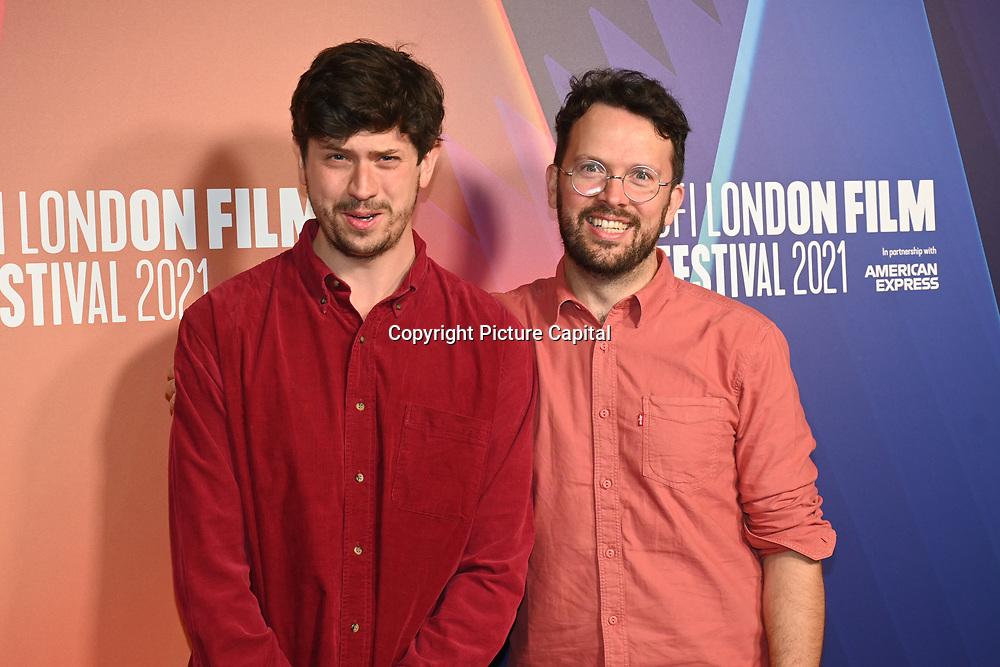 Mikey Please, Dan Ojar attended Robin Robin European Premiere at BFI Southbank, London, UK. 9 Ocyober 2021.