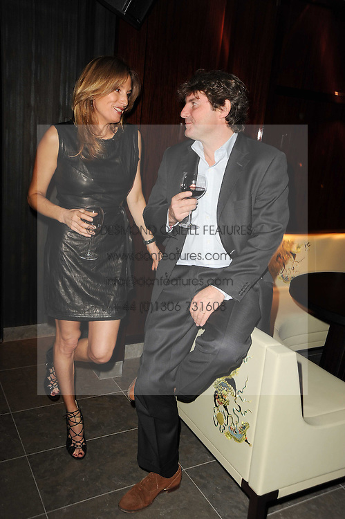 EMILY OPPENHEIMER-TURNER and CHARLIE BROOKS at a dinner to celebrate the work of Malaria No More UK held at Hakkasan Mayfair, 17 Bruton Street, London W1 on 16th November 2010.