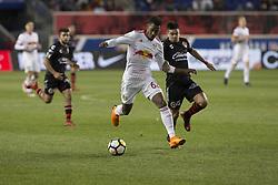 March 13, 2018 - Harrison, New Jersey, United States - Michael Murillo (62) of Red Bulls controls ball during Scotiabank Concacaf Champions League quarterfinal second leg game against Club Tijuana at Red Bull Arena Red Bulls won 3 - 1 (5 - 1 on aggregate) (Credit Image: © Lev Radin/Pacific Press via ZUMA Wire)