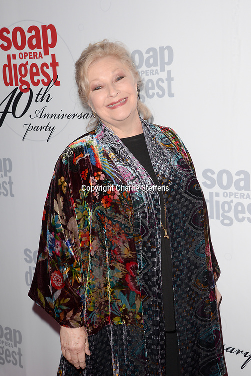 BETH MAITLAND at Soap Opera Digest's 40th Anniversary party at The Argyle Hollywood in Los Angeles, California