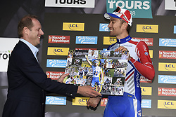 October 7, 2018 - Tours, France - TOURS, FRANCE - OCTOBER 7 : PRUDHOMME Christian (FRA) Director of ASO, ROY Jeremy (FRA)  of FDJ during the 112th edition of the Paris - Tours Elite cycling race with start in Chartres and finish in Tours on October 07, 2018 in Tours, France, 7/10/2018 (Credit Image: © Panoramic via ZUMA Press)