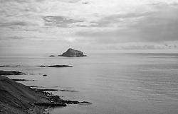 Skrudur in Faskrudsfjordur, east Iceland - Skrúður, Fáskrúðsfjörður