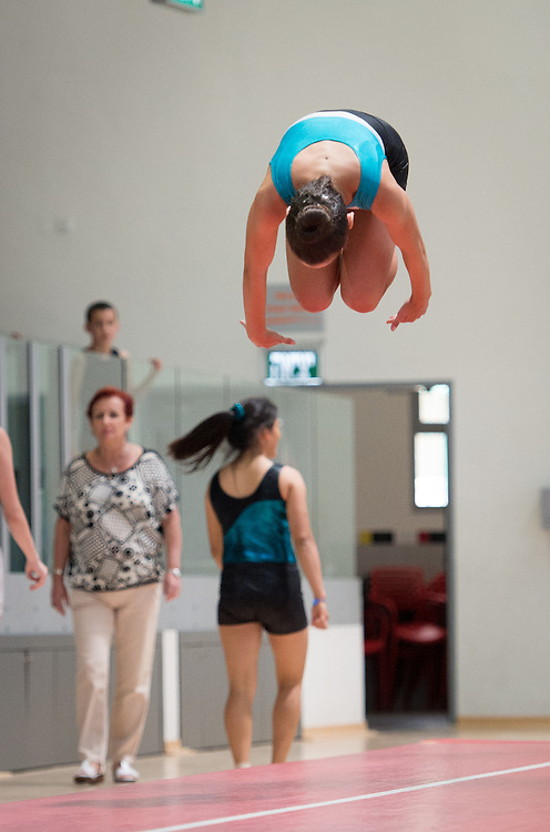 Ground Acrobatics competitition in Holon Israel in June 2014