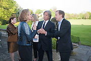 CAROLINE MICHEL; RICHARD CARING; GEORDIE GREIG, Reception to launch American Ballet TheatreÕs  International Council in support of cross-cultural educational exchange and international touring.<br /> An educational exchange program between<br /> American Ballet Theatre and The Royal Ballet. Hosted by AMBASSADOR LOUIS B. SUSMAN, MRS. MARJORIE SUSMAN. Winfield House. Regents Park. London. 27 April 2010 *** Local Caption *** -DO NOT ARCHIVE-© Copyright Photograph by Dafydd Jones. 248 Clapham Rd. London SW9 0PZ. Tel 0207 820 0771. www.dafjones.com.<br /> CAROLINE MICHEL; RICHARD CARING; GEORDIE GREIG, Reception to launch American Ballet Theatre's  International Council in support of cross-cultural educational exchange and international touring.<br /> An educational exchange program between<br /> American Ballet Theatre and The Royal Ballet. Hosted by AMBASSADOR LOUIS B. SUSMAN, MRS. MARJORIE SUSMAN. Winfield House. Regents Park. London. 27 April 2010
