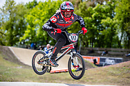 #117 (AEBERHARD Nadine) SUI at Round 4 of the 2019 UCI BMX Supercross World Cup in Papendal, The Netherlands