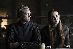 RELEASE DATE: April 24, 2016 season 6 TITLE: Game of Thrones STUDIO: HBO DIRECTOR: PLOT: In the mythical continent of Westeros, several powerful families fight for control of the Seven Kingdoms. As conflict erupts in the kingdoms of men, an ancient enemy rises once again to threaten them all. Meanwhile, the last heirs of a recently usurped dynasty plot to take back their homeland from across the Narrow Sea. STARRING: GWENDOLINE CHRISTIE, SOPHIE TURNER. (Credit Image: © HBO/Entertainment Pictures/ZUMAPRESS.com)