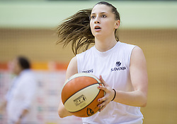 Rebeka Abramovic during practice session of Slovenian Women Basketball Team, on May 14, 2014 in Arena Vitranc, Kranjska Gora, Slovenia. Photo by Vid Ponikvar / Sportida