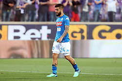 April 29, 2018 - Florence, Florence, Italy - 29th April 2018, Stadio Artemio Franchi, Florence, Italy; Serie A Football, Fiorentina versus Napoli; Lorenzo Insigne of Napoli leaves the pitch dejected after losing their match 3-0 against Fiorentina  Credit: Giampiero Sposito/Pacific Press (Credit Image: © Giampiero Sposito/Pacific Press via ZUMA Wire)
