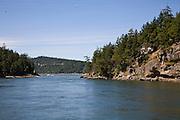 Dent Pass, Gulf Islands, Vancouver Island, British Columbia, Canada