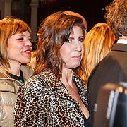 NLD/Amsterdam/20160311 - Inloop Boekenbal 2016, Medina Schuurman en Isa Hoes
