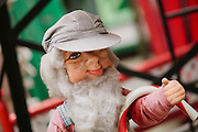 Detail of items in a City of San Jose warehouse where displays from Christmas in the Park, an annual San Jose holiday tradition, are kept in the off-season.