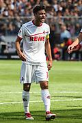 FUSSBALL: 2. Bundesliga, FC St. Pauli . 1. FC Koeln 3:5 Hamburg, 02.09.2018<br /> Jonas Hector (Koeln) gibt Anweisungen<br /> © Torsten Helmke