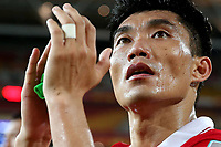 Fotball<br /> Asian Cup / Asiamesterskapet<br /> 10.01.2015<br /> Kina v Saudi Arabia<br /> Foto: imago/Digitalsport<br /> NORWAY ONLY<br /> <br /> Zheng Zhi of China gestures after a Group B match against Saudi Arabia at the AFC Asian Cup in Brisbane, Australia, Jan. 10, 2015. China won 1-0.