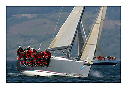 Bell Lawrie Scottish Series 2008. Fine North Easterly winds brought perfect racing conditions in this years event..IRL3939 Antix Elie ( Silk Glove ) Class 1