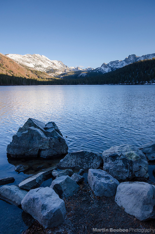 The Mammoth Crest above Lake Mary, Mammoth Lakes, Inyo National Forest, California