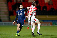 Southend United forward Stephen Humphrys (39) with eyes on the ball during the EFL Sky Bet League 1 match between Doncaster Rovers and Southend United at the Keepmoat Stadium, Doncaster, England on 12 February 2019.