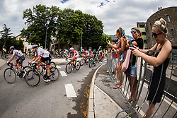 Tadej Pogacar (SLO) of UAE Team Emirates during 4th Stage of 26th Tour of Slovenia 2019 cycling race between Nova Gorica and Ajdovscina (153,9 km), on June 22, 2019 in Slovenia. Photo by Vid Ponikvar / Sportida