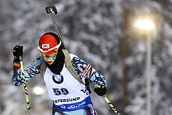 "March 8, 2019 - ƒâ€""Stersund, Sweden - 190308 Seonsu Kim of Korea Republic competes in the Women's 7.5 KM sprint during the IBU World Championships Biathlon on March 8, 2019 in Östersund..Photo: Petter Arvidson / BILDBYRÃ…N / kod PA / 92247 (Credit Image: © Petter Arvidson/Bildbyran via ZUMA Press)"