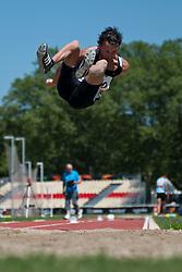 Tataren Mario, ARG, Long Jump, F37/38, 2013 IPC Athletics World Championships, Lyon, France