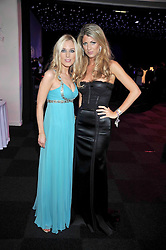 Left to right, IMOGEN LLOYD WEBBER and NATHALIE RICHENBERG at The Butterfly Ball in aid of the Caudwell Children Charity held in Battersea park, London on 14th May 2009.