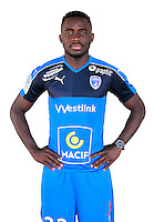 Daouda Bassock during the photocall of Niort for new season on October 17th 2016<br /> Photo : Benoit Felace / FCCN / Icon Sport