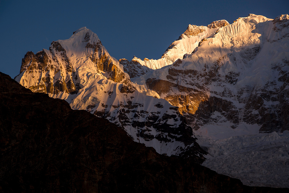 Masherbrum at Sunrise, Pakistan