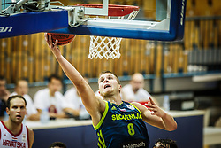 Edo Muric of Slovenia during friendly basketball match between Slovenia and Croatia , on September 8, 2018 in Arena Zlatorog, Celje, Slovenia. Photo by Ziga Zupan / Sportida
