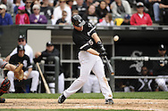 CHICAGO - MAY 01:  Gordon Beckham #15 of the Chicago White Sox bats against the Baltimore Orioles on May 1, 2011 at U.S. Cellular Field in Chicago, Illinois.  The Orioles defeated the White Sox 6-4.  (Photo by Ron Vesely)  Subject:   Gordon Beckham.