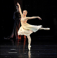 Boston Ballet Dress Rehearsal of Romeo and Juliet. Juliet  Larissa Ponomarenko (Juliet)..www.michaelseamans.com