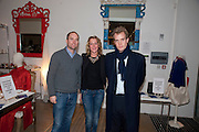 HUGO CHITTENDEN; DAISY BLUNT; FRANCOIS O'NEILL, The Volunteer, A fundraiser for a school project in Uganda. The Henry Von Straubenzee Memorial Fund, <br /> Few And Far, 242 Brompton Road, London SW3, 11 February 2010.