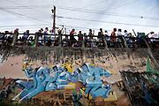 Belo Horizonte_MG, Brasil.<br /> <br /> O bloco de carnaval Filhos de Tcha Tcha desfila pelas ruas do bairro Santa Tereza, Belo Horizonte, Minas Gerais.<br /> <br /> Filhos de Tcha Tcha carnival in Santa Tereza neighborhood, Belo Horizonte, Minas Gerais.<br /> <br /> Foto: NIDIN SANCHES / NITRO